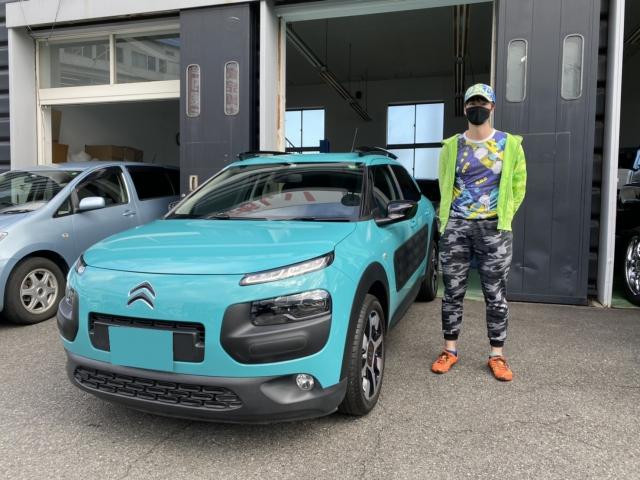 2016y CitroënC4 CACTUS 埼玉県にお住まいのS様 有り難う御座います!!