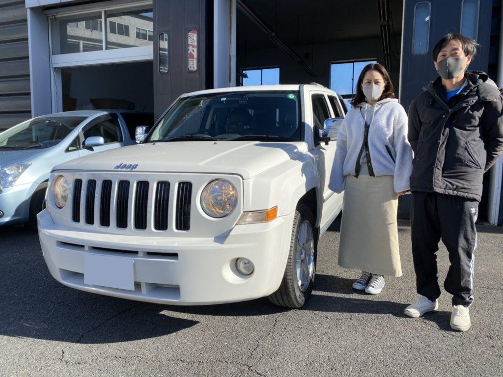 2010y Jeep PATRIOT 神奈川県にお住まいのO様 有り難う御座います♪
