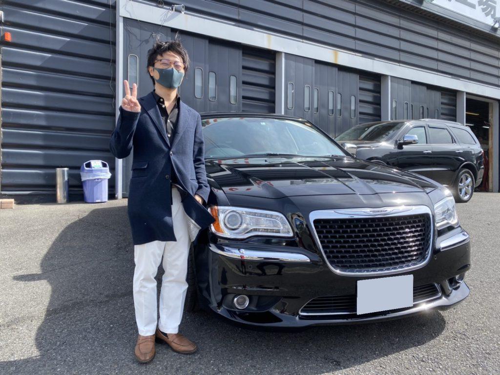 2013y CHRYSLER 300 Limited 東京都にお住まいのS様 有り難う御座います♪