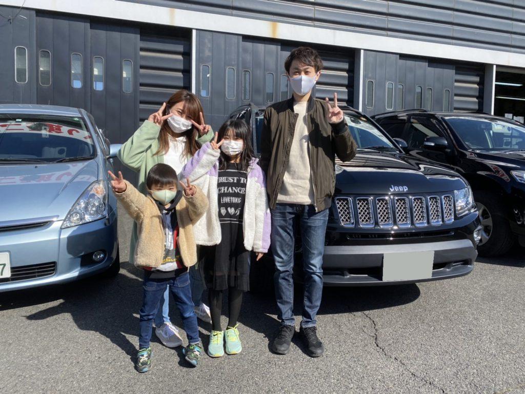 2014y Jeep Compass 東京都にお住まいのY様 有り難う御座います♪