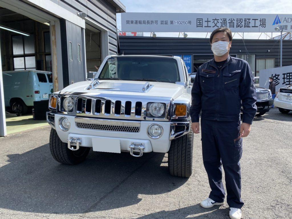 2006y HUMMER H3 埼玉県にお住まいのS様 有り難う御座います♪