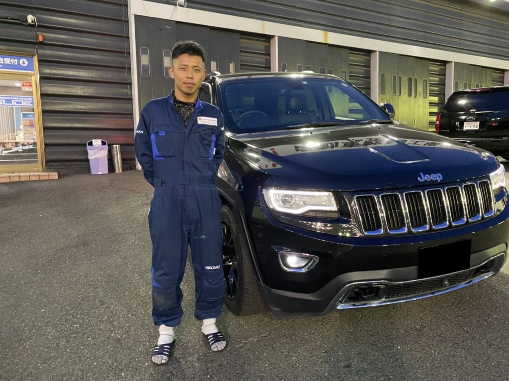 2014y Jeep GRAND CHEROKEE LIMITED 神奈川県にお住まいのK様 有り難う御座います♪