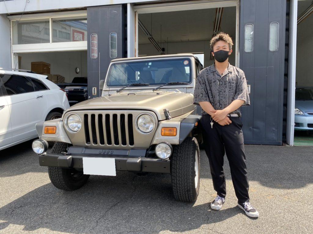 2005y Jeep WRANGLER SPORT 4WD 神奈川県にお住まいのA様 有難う御座います♪