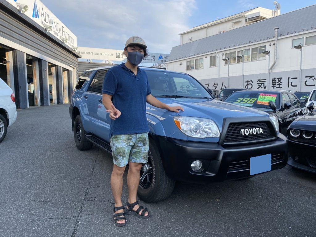 2005y TOYOTA  HILUX SURF 神奈川県にお住まいのM様 有り難う御座います♪