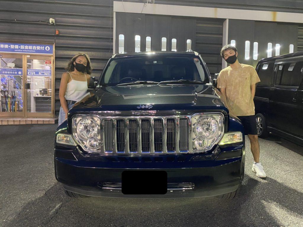 2010y Jeep CHEROKEE LIMITED 神奈川県にお住まいのO様 有り難う御座います♪